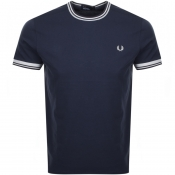 Product Image for Fred Perry Twin Tipped T Shirt Grey