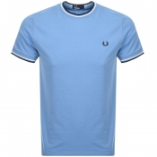 Product Image for Fred Perry Twin Tipped T Shirt Blue