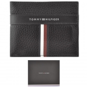 Product Image for Tommy Hilfiger Corporate Leather Wallet Black