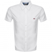 Levis Short Sleeved Battery Shirt White