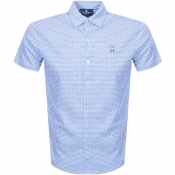 Product Image for Psycho Bunny Short Sleeved Howden Shirt Blue