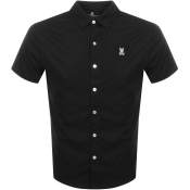Psycho Bunny Oxford Interlock Shirt Black