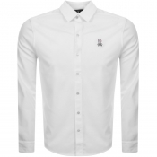 Product Image for Psycho Bunny Long Sleeved Shirt White