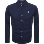 Psycho Bunny Long Sleeved Shirt Navy