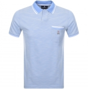 Psycho Bunny Thornton Polo T Shirt Blue