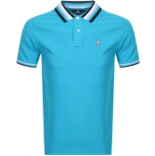 Psycho Bunny Coniston Polo T Shirt Blue
