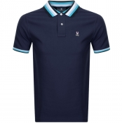 Psycho Bunny Coniston Polo T Shirt Navy