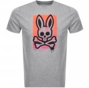 Product Image for Psycho Bunny Pebley Crew Neck T Shirt Grey