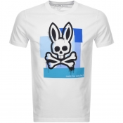 Product Image for Psycho Bunny Chelburn Crew Neck T Shirt White