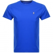 Product Image for Psycho Bunny Classic Crew Neck T Shirt Blue