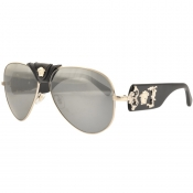 Versace Medusa Sunglasses Black