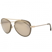 Versace Medusa Sunglasses Gold