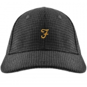 Product Image for Farah Vintage Houndstooth Baseball Cap Grey