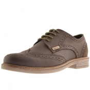 Barbour Bamburgh Brogue Shoes Brown