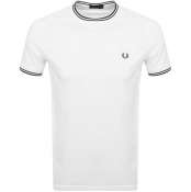 Product Image for Fred Perry Twin Tipped T Shirt White