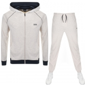 Product Image for BOSS HUGO BOSS Lounge Tracksuit Beige Marl