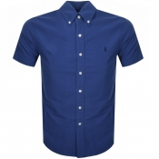 Ralph Lauren Short Sleeved Slim Fit Shirt Blue