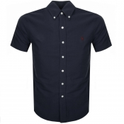 Product Image for Ralph Lauren Short Sleeved Slim Fit Shirt Navy