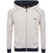 Product Image for BOSS HUGO BOSS Full Zip Hoodie Beige Marl