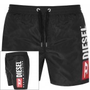 Diesel Wave Swim Shorts Black