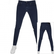 Product Image for G Star Raw Revend Skinny Fit Jeans Blue