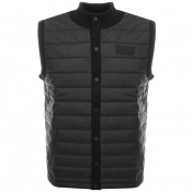 Product Image for Barbour International Baffle Gilet Black