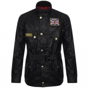 Product Image for Barbour International Union Jack Jacket Black