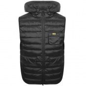 Product Image for Barbour International Quilted Ousten Gilet Black