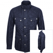 Product Image for Barbour International Ariel Quilted Jacket Navy