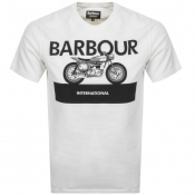 Product Image for Barbour International Rider T Shirt White