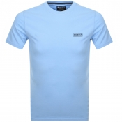 Product Image for Barbour International Logo T Shirt Blue