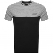 Barbour International Blocker Logo T Shirt Black