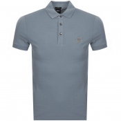 BOSS Casual Passenger Polo T Shirt Grey