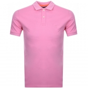 Product Image for Superdry Classic Micro Pique Polo T Shirt Pink
