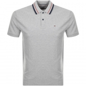 Tommy Jeans Classic Polo T Shirt Grey