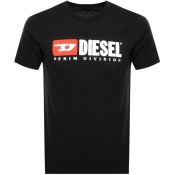 Diesel T Just Division T Shirt Black