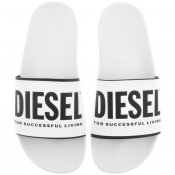 Product Image for Diesel Valla Flip Flops White