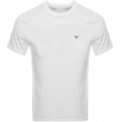 Barbour Sports T Shirt White