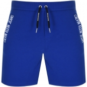 Calvin Klein Jeans Institutional Logo Shorts Blue