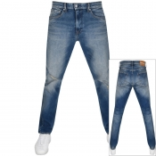 Product Image for Calvin Klein Jeans Athletic Taper Fit Jeans Blue