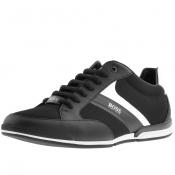 BOSS Athleisure Saturn Lowp Trainers Black