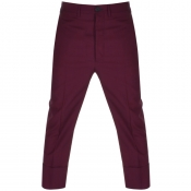 Vivienne Westwood Wool Suit Trousers Red