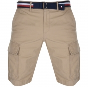 Product Image for Tommy Hilfiger John Twill Belt Cargo Shorts Beige