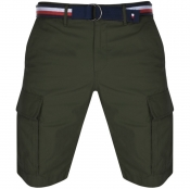 Product Image for Tommy Hilfiger John Twill Belt Cargo Shorts Khaki