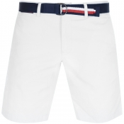Product Image for Tommy Hilfiger Brooklyn Twill Belt Shorts White