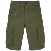 Pretty Green Cargo Shorts Khaki