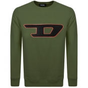 Product Image for Diesel Division D Logo Sweatshirt Green