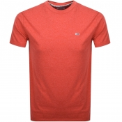 Product Image for Tommy Jeans Blended T Shirt Red