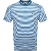 Tommy Jeans Classic Stripe T Shirt Blue