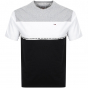 Product Image for Tommy Jeans Colour Block Logo T Shirt Grey